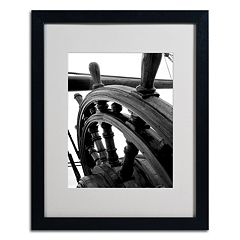 Trademark Fine Art 'Masterful Guidance' Matted Black Framed Wall Art