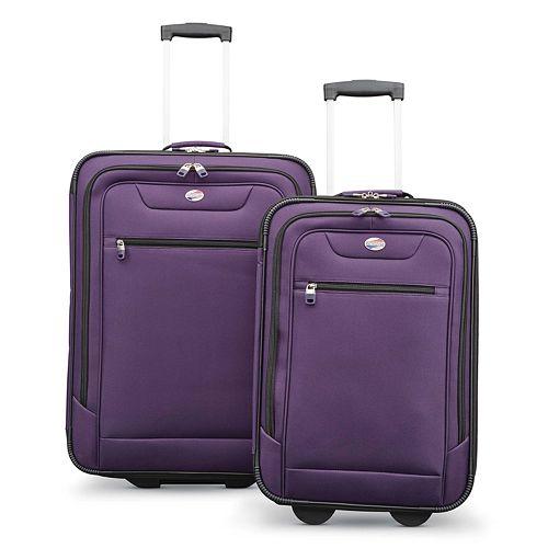 American Tourister Compass 2-Piece Wheeled Luggage Set