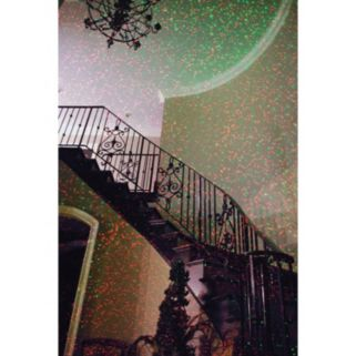 Star Shower with MOTION Laser Light