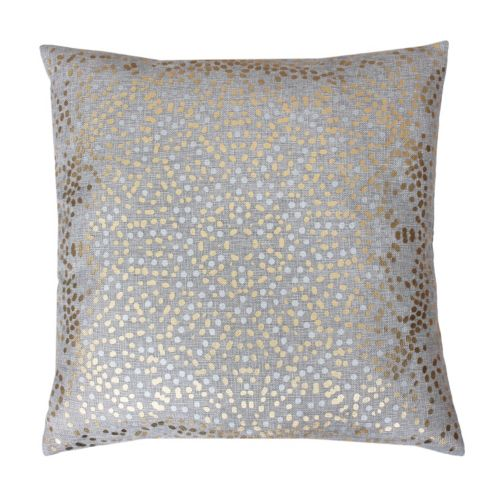 Thro by Marlo Lorenz Foil Dot Throw Pillow