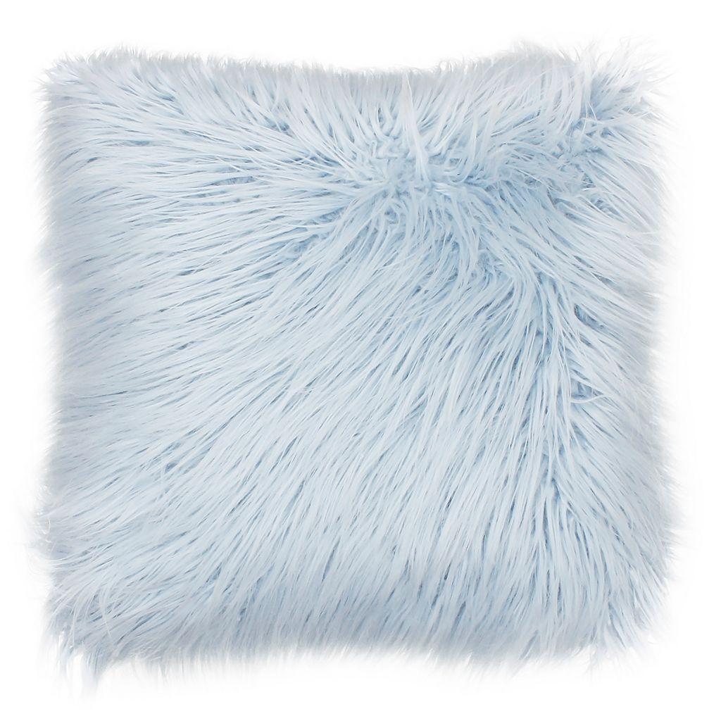 Thro by Marlo Lorenz Keller Faux-Fur Throw Pillow