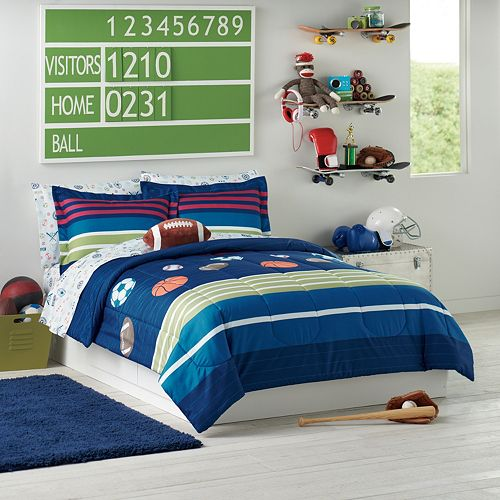 Jumping Beans MVP Sports Bedding Set