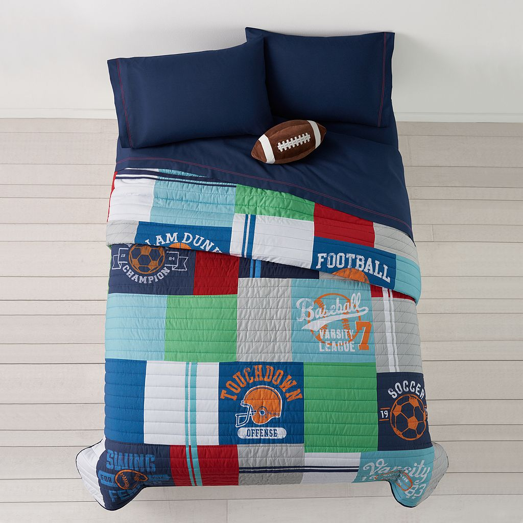 Jumping Beans All Star Quilt Set