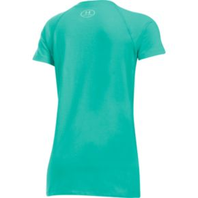 """Girls 7-16 Under Armour """"Strong"""" Metallic Graphic Tee"""
