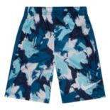 Toddler Boy Nike Dri-FIT Blue Legacy Printed Shorts