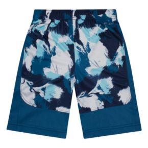 Toddler Boy Nike Dri-FIT Blue Legacy Printed Shorts