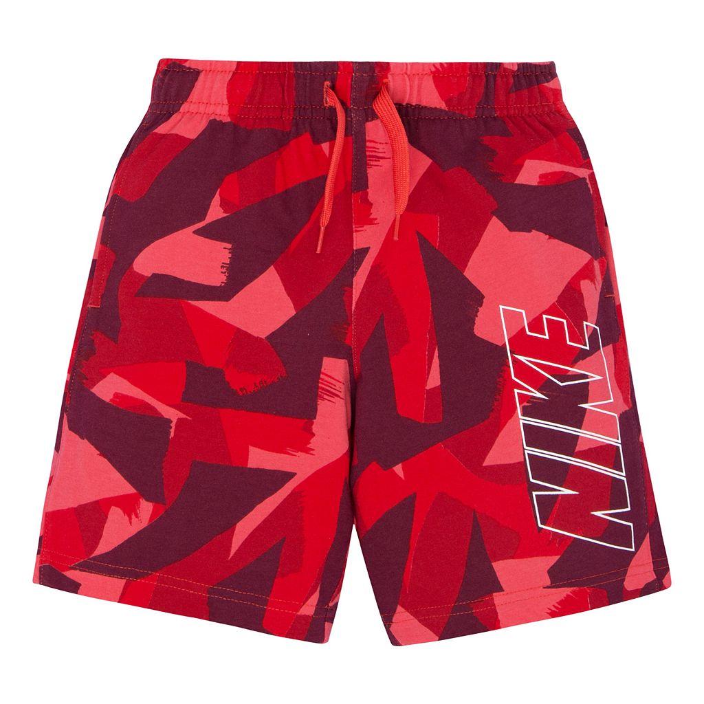 Toddler Boy Nike Printed Athletic Shorts