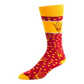 Adult For Bare Feet Arizona State Sun Devils Dot Band Crew Socks
