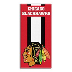 Chicago Blackhawks Zone Beach Towel