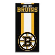 Boston Bruins Zone Beach Towel