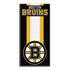Boston Bruins Zone Beach Towel