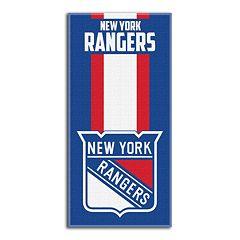 New York Rangers Zone Beach Towel