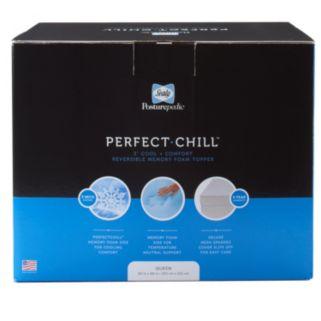 Sealy Posturepedic Perfect Chill 3-inch Memory Foam Topper