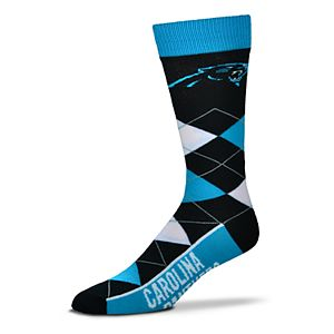 8ec5a522 Men's For Bare Feet Carolina Panthers First String Crew Socks