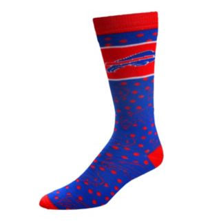 Adult For Bare Feet Buffalo Bills Dot Band Crew Socks