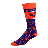 Adult For Bare Feet Chicago Bears Dot Band Crew Socks