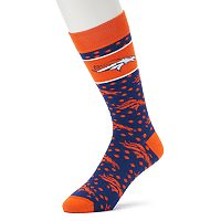 Adult For Bare Feet Denver Broncos Dot Band Crew Socks