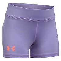 Girls 7-16 Under Armour Solid Shorty Shorts