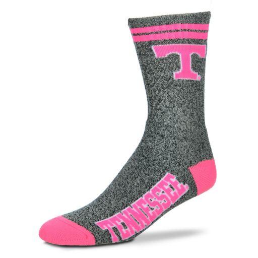 Adult For Bare Feet Tennessee Volunteers Two Stripe Crew Socks