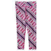 Girls 7-16 FILA SPORT® Chevron Patterned Capri Leggings