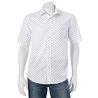Big & Tall Batik Bay Modern-Fit Patterned Casual Button-Down Shirt
