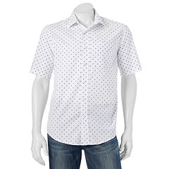 Big & Tall Batik Bay Modern-Fit Patterned Casual Button-Down Shirt