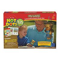 Educational Insights Hot Dots Tots My World Interactive Board Book Set with Elliott Pen
