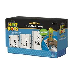 Educational Insights Hot Dots Math Flash Cards - Addition