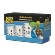 Educational Insights Hot Dots Math Flash Cards - Multiplication