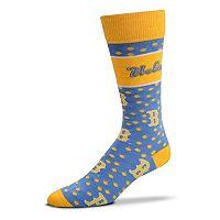 Adult For Bare Feet UCLA Bruins Dot Band Crew Socks