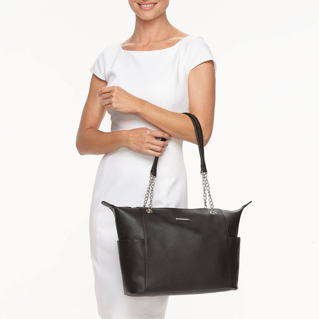 Stone & Co. Grainy Pebble Leather Tote