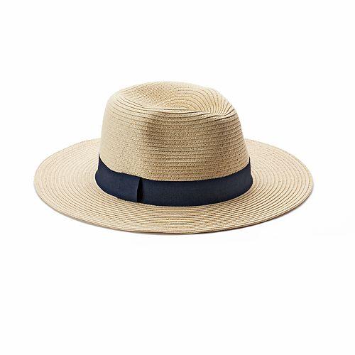 Women's Chaps Straw Panama Hat