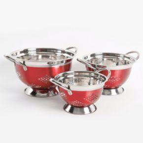 Oster Metaline 3-piece Asean Colander Set