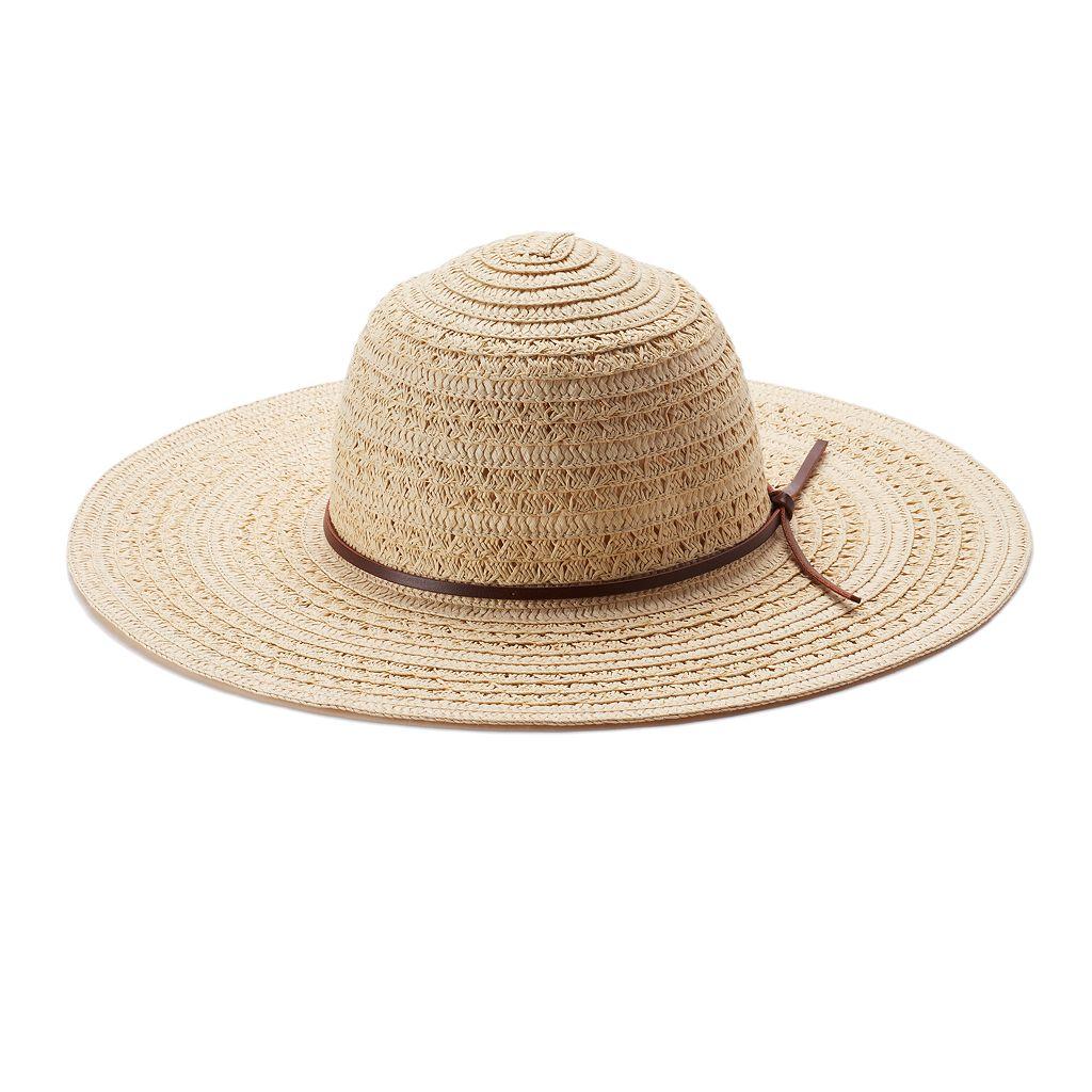 Women's Chaps Straw Sun Hat