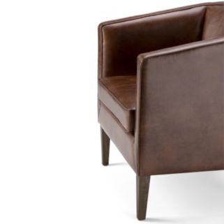 Simpli Home Mitchum Tub Arm Chair