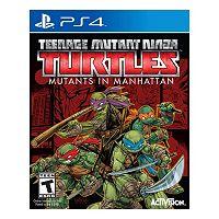 Teenage Mutant Ninja Turtles: Mutants in Manhattan for PS4