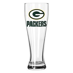 Boelter Green Bay Packers Clear Pilsner Glass