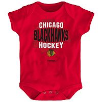 Baby Reebok Chicago Blackhawks Center Ice Bodysuit