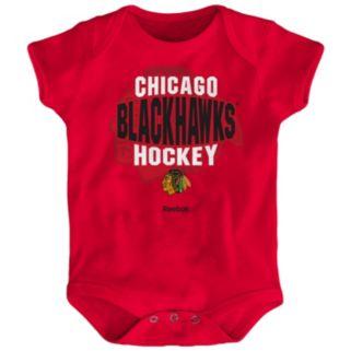 Baby Reebok Chicago Blackhawks Center Ice Bodysuit