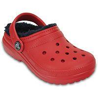 Crocs Classic Lined Boys' Clogs
