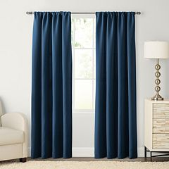 SONOMA Goods for Life™ 1-Panel Carson Twill Pole Top Window Curtain