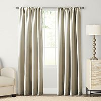 SONOMA Goods for Life™ Carson Twill Pole Top Window Curtain