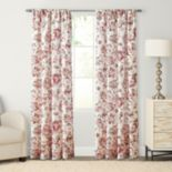 SONOMA Goods for Life? 1-Panel Devonshire Print Pole Top Window Curtain