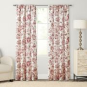 SONOMA Goods for Life™ Devonshire Print Pole Top Window Curtain