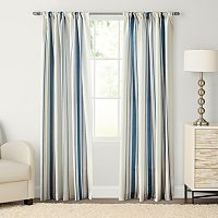 SONOMA Goods for Life™ Havana Stripe Pole Top Window Curtain