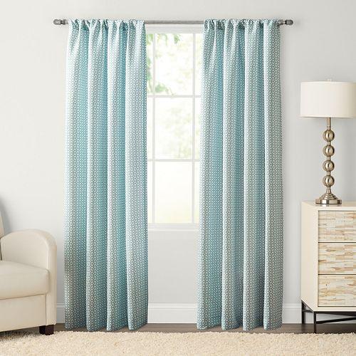 SONOMA Goods for Life™ 1-Panel Carlton Pole Top Window Curtain