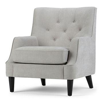 Simpli Home Grange Club Accent Chair