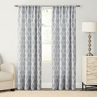 SONOMA Goods for Life™ Trellis Pole Top Window Curtain