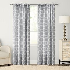SONOMA Goods for Life™ 1-Panel Trellis Pole Top Window Curtain