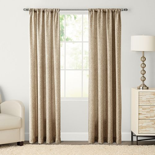 SONOMA Goods for Life™ Alhambra Print Pole Top Window Curtain